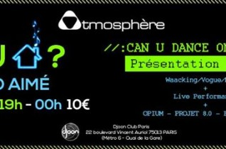 ATMOSPHERE – « R U HOUSE ? » #CANUDANCEONMYBEAT?
