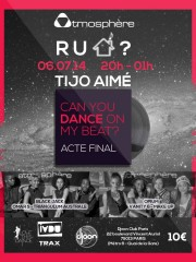 «R U HOUSE ?» concours CAN U DANCE ON MY BEAT? – Acte final