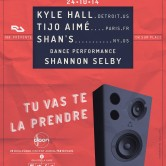 ATMOSPHÈRE avec KYLE HALL (Us), SHAN S (Us), TIJO AIMÉ (resident) – Dance Performance: Shannon Selby