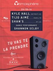 ATMOSPHÈRE avec KYLE HALL (Us), SHAN S (Us), TIJO AIMÉ (resident) – Dance Performance: Shannon Selby